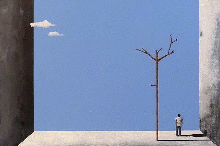"""De la serie """" los lugares que vivien en mi casa"""" - Arte loft galeria"""