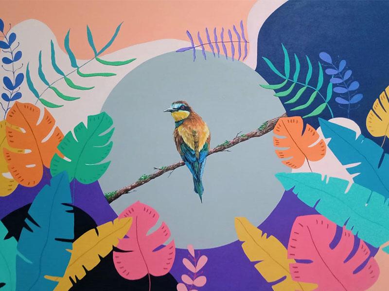 Samir quintero -arte loft galeria- arte contemporaneo - arte y naturaleza