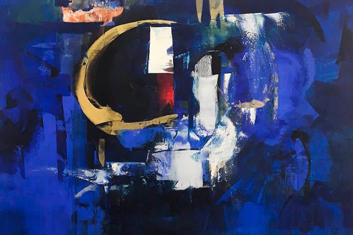 Patricio Bermeo - pintura abstracta - Arte loft galeria