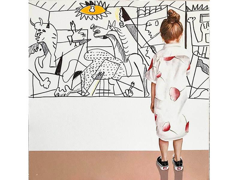 Guernica de la serie master of painting- arte loft galeria