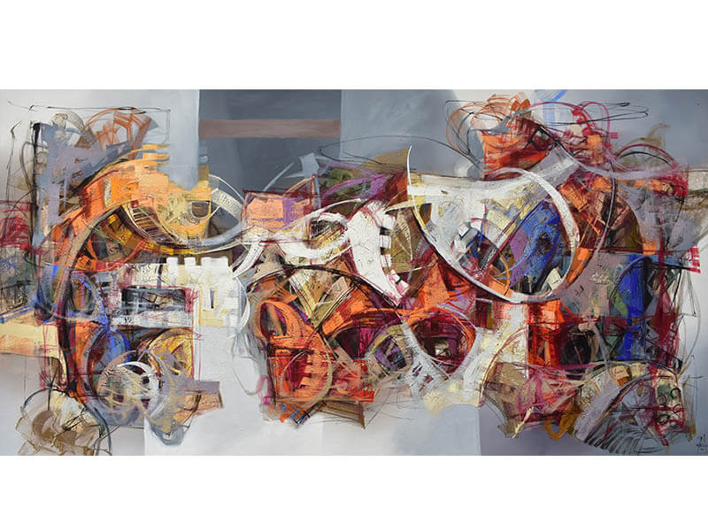 """De la serie """"El color de la identidad"""" - arte loft galeria - decoración - interiores"""