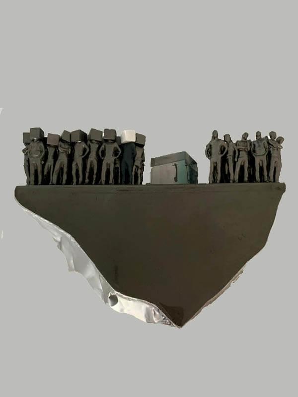 Danilo cuadros - arte loft galeria - esculturas