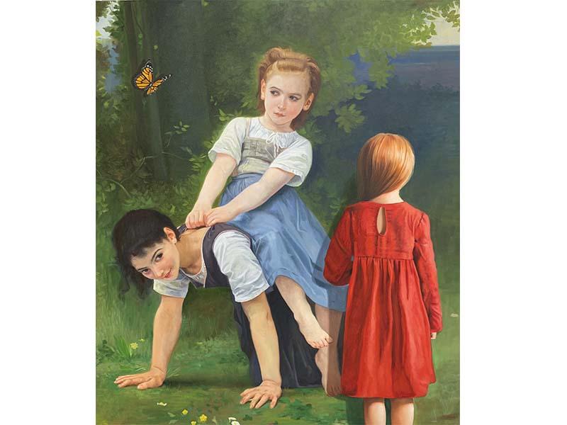 De la serie master of painting - Arte Loft galeria - Javier caraballo