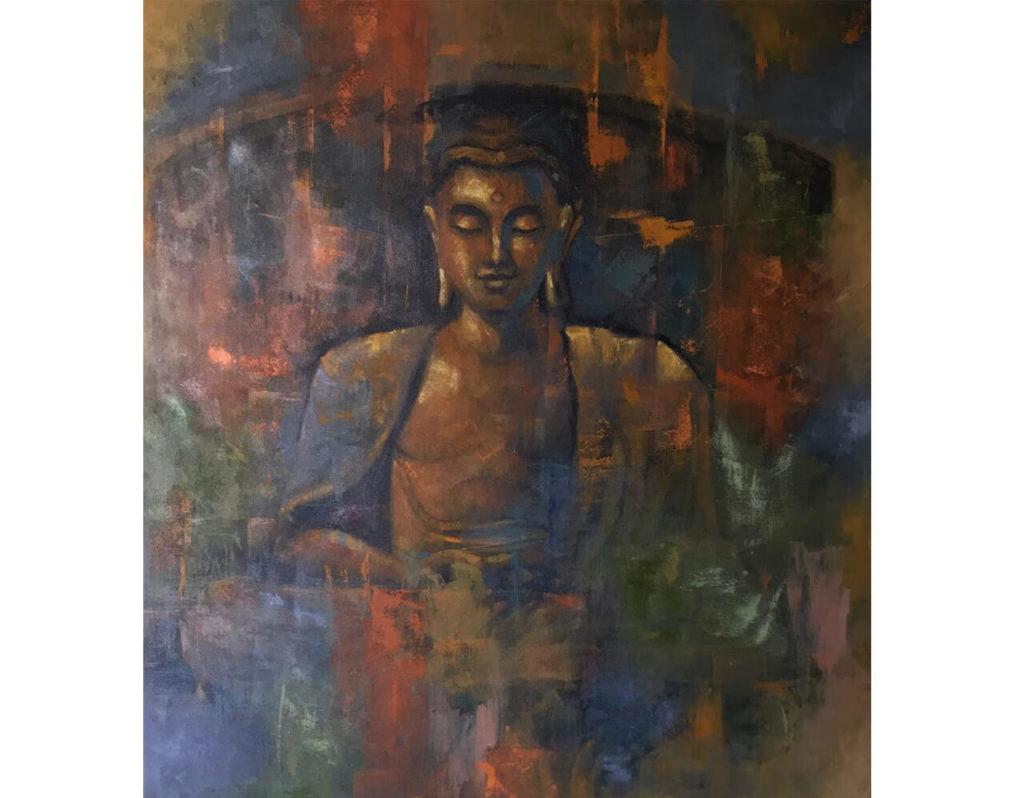obras de arte - espacios- decoracion - cuadros - galeria de arte