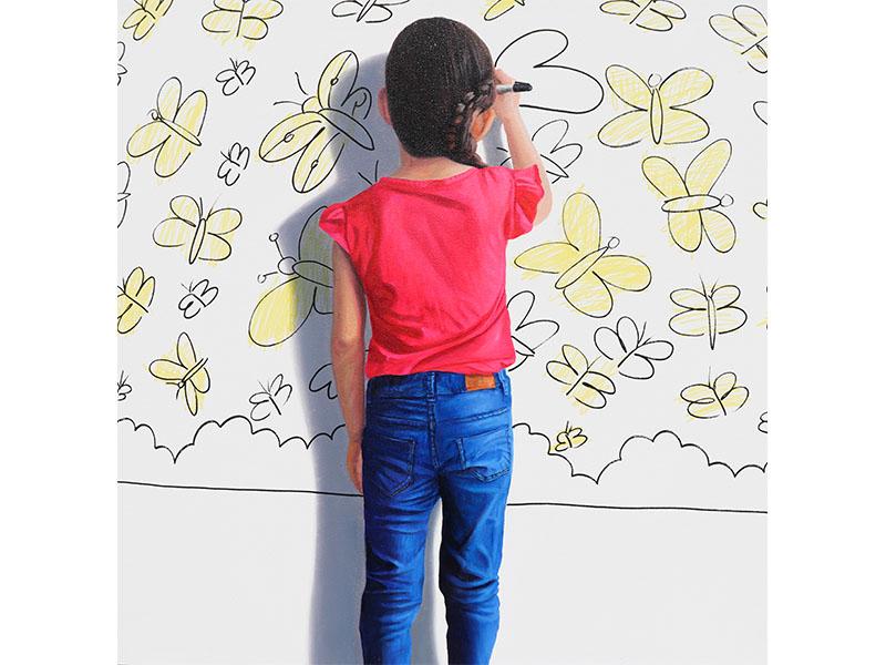 Javier Caraballo - arte loft galeria - cuadros decorativos - pinturas al óleo - pinturas de niños
