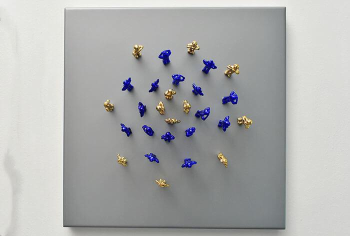 Tintín - arte loft galería - decoración - exposición de arte -interiores