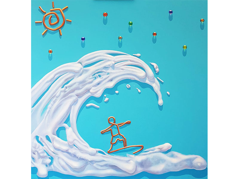 Ruben teran - pintura acrilica - arte loft galeria -pintura para decorar