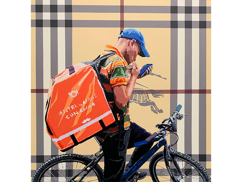 Diego Guti. arte loft galeria, de la serie consimismo , arte para espacios