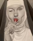 Edwin Guevarez, monjas , arte loft galeria
