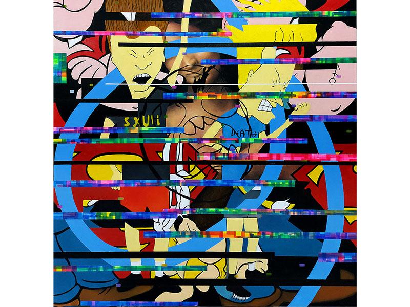 arte loft galería - orlando villatoro - arte contemporaneo -arte pop - pop art