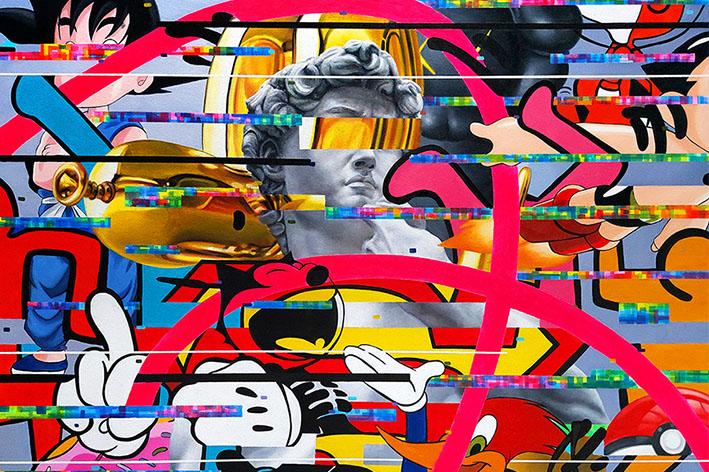 orlando villatoro - arte contemporáneo - arte pop - pop art - arte decorativo