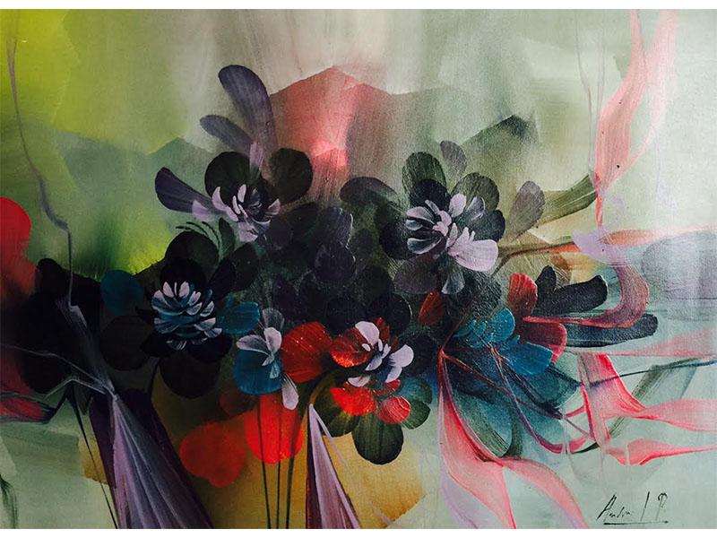 Obras decorativas - pintura decorativa - arte decorativo - pintura en acrílico - arte loft galeria