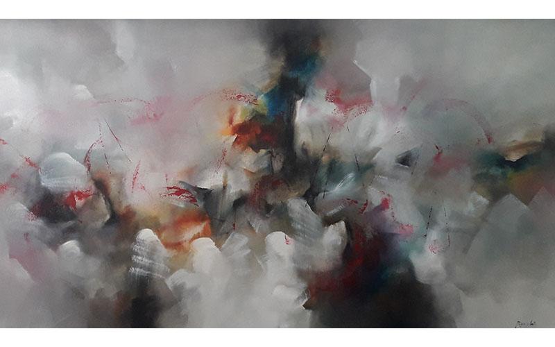 Obras decorativas - pintura decorativa - arte decorativo - pintura en acrílico - arte loft galeria - pintura abstracta